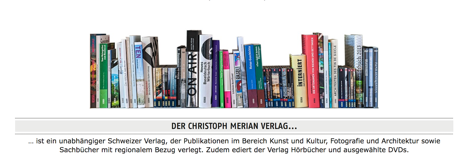 Website Bücher CMV