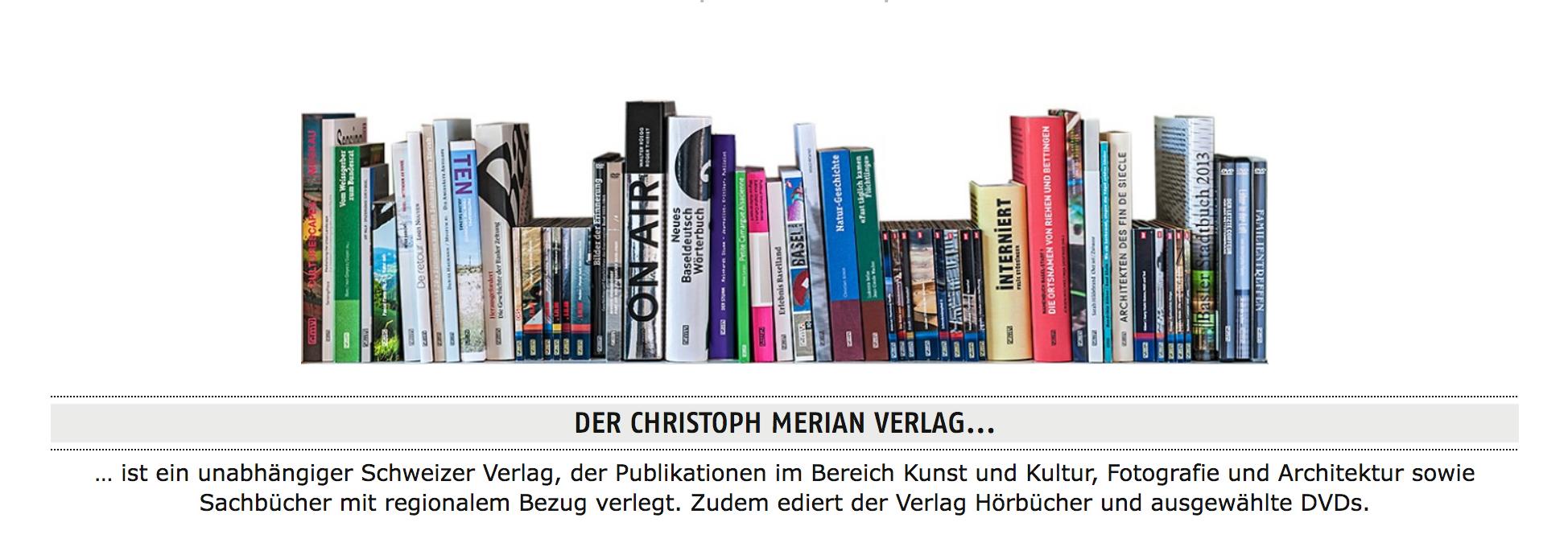 Website Bücher CMV