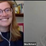 Lydia und Nina im Gespräch um 9 Uhr
